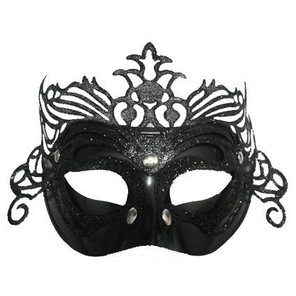 ab4c597d6 Tato karnevalová maska na obličej je ideálním doplňkem na maškarní bál nebo  večírek.