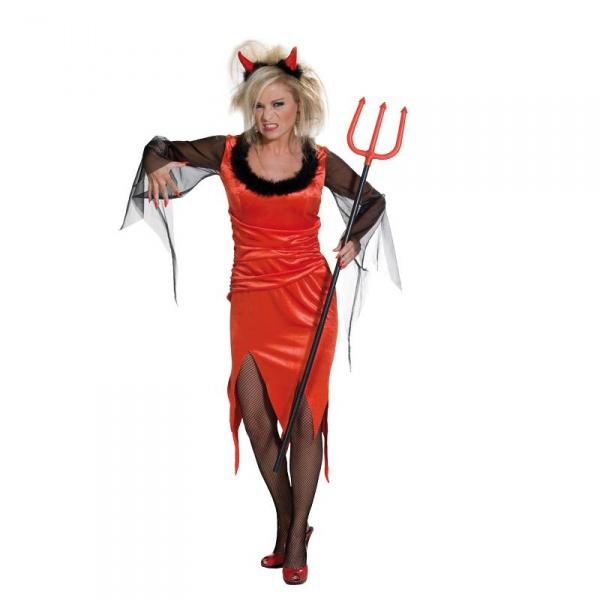 Dámský kostým Čertice - Ptákoviny Karneval 73985f56812