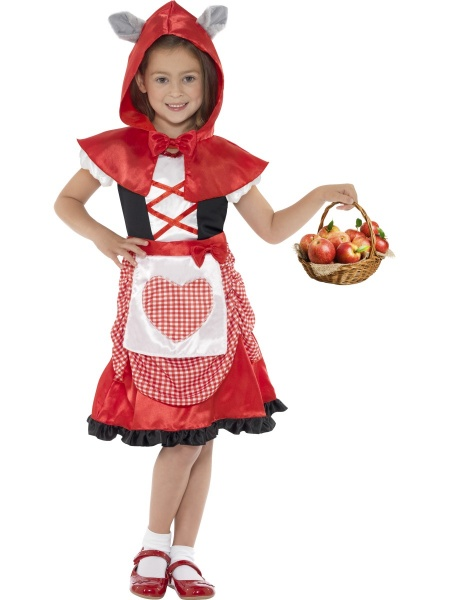 Dětský kostým Červená Karkulka - Ptákoviny Karneval e347fb95bd0
