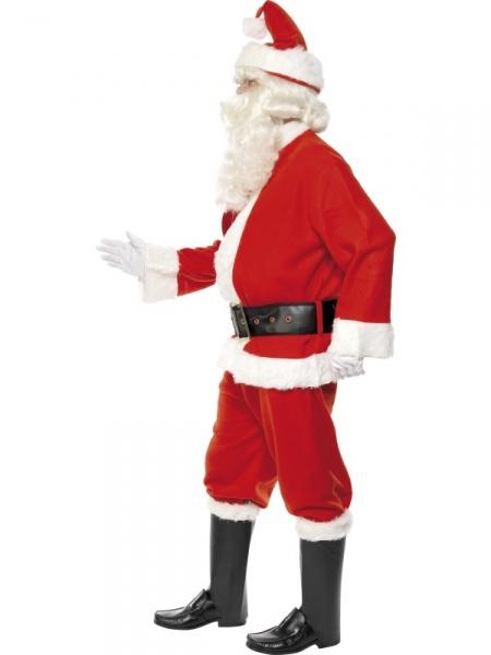 3159318e0 Úvod > Karnevalové kostýmy > Vánoční kostýmy > Kostým Santa Claus - deluxe.  Kostým Santy Clause se skládá z kabátu, kalhot, pásku, čepice, rukavic a  návleků ...