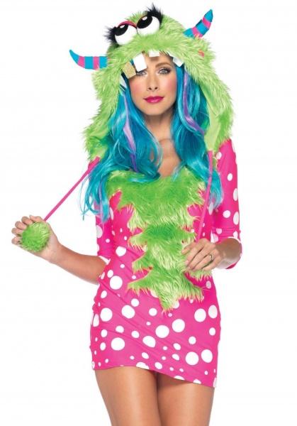 Kostým Příšerka Melody - Ptákoviny Karneval b04721bb157