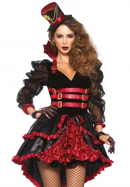 Kostým Viktoriánská upírka - Ptákoviny Karneval a647b2df553