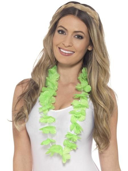 Havajský věnec zelený - Ptákoviny Karneval fe5637c940