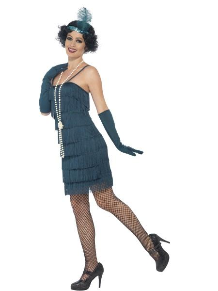 a1f5b7ea175d Kostým prohibice - modrý - Ptákoviny Karneval