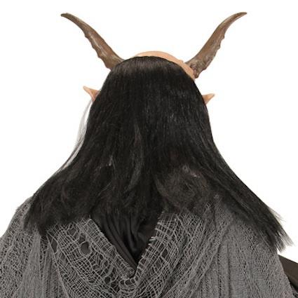a7965a0d4 Latexová maska Ďábel s parukou - Ptákoviny Karneval